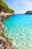 Majorca Cala Gran Dor beach in Mallorca Santanyi Royalty Free Stock Photo
