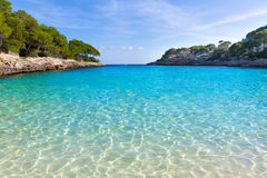 Majorca Cala Gran Dor beach in Mallorca Santanyi Royalty Free Stock Photos