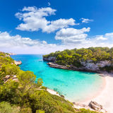 Majorca Cala Llombards Santanyi beach Mallorca Stock Photo