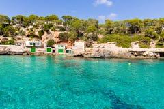 Majorca Cala Llombards Santanyi beach Mallorca Stock Photos