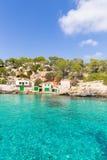 Majorca Cala Llombards Santanyi beach Mallorca Royalty Free Stock Photography