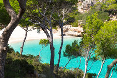 Majorca Cala Llombards Santanyi beach Mallorca Stock Photo
