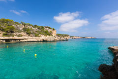 Majorca Cala Llombards Santanyi beach Mallorca Royalty Free Stock Photography