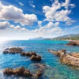 Majorca Cala Ratjada Rajada in Capdepera Mallorca Stock Images