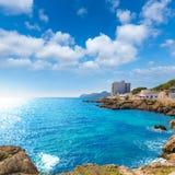 Majorca Cala Ratjada Rajada in Capdepera Mallorca Stock Photography