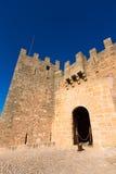 Majorca Capdepera Castle Castell στη Μαγιόρκα στοκ εικόνες
