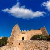 Majorca Capdepera Castle Castell in Mallorca Royalty Free Stock Photos