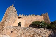 Majorca Capdepera Castle Castell in Mallorca Royalty Free Stock Photography