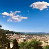 Majorca Capdepera village at  Mallorca Balearics Stock Photo