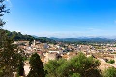 Majorca Capdepera village at  Mallorca Balearics Royalty Free Stock Photos