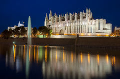 Majorca Cathedral Royalty Free Stock Photos