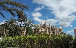 Majorca cathedral Royalty Free Stock Photo