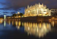 Majorca cathedral Royalty Free Stock Image
