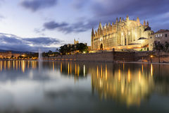 Majorca cathedral Stock Image