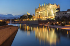 Majorca cathedral Stock Photography