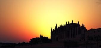 Majorca cathedral Royalty Free Stock Photography