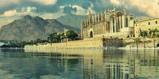 Majorca cathedral Stock Photos