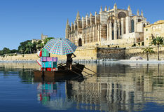 Majorca cathedral Royalty Free Stock Images