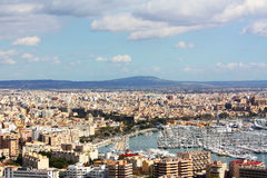 Majorca cityscape Stock Photography