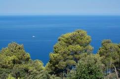 Majorca coast horizon view Stock Photo