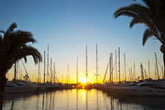 Majorca coast at sunrise Stock Photography
