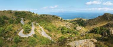 majorca d'horizontal panoramique Image stock