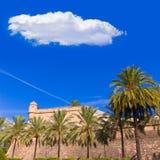 Majorca Es Baluard facade in Palma de Mallorca Stock Image