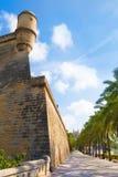 Majorca Es Baluard fasada w Palmie de Mallorca Obraz Royalty Free