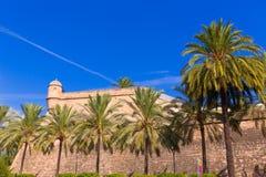 Majorca Es Baluard fasada w Palmie de Mallorca Fotografia Royalty Free