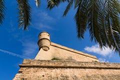 Majorca Es Baluard fasada w Palmie de Mallorca Obraz Stock
