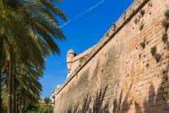 Majorca Es Baluard fasada w Palmie de Mallorca Obrazy Royalty Free