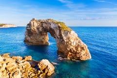 Majorca Es Pontas in Santanyi at Mallorca Balearic Stock Image