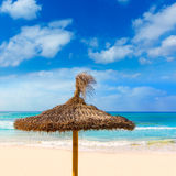 Majorca Es Trenc ses Arenes beach in Balearic Royalty Free Stock Images