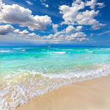 Majorca Es Trenc ses Arenes beach in Balearic Royalty Free Stock Photography