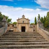 Majorca esglesia del Calvari church Pollenca Pollensa Stock Photos