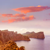 Majorca Formentor Cape in Mallorca Balearic island Royalty Free Stock Photo