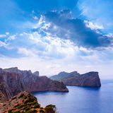 Majorca Formentor Cape in Mallorca Balearic island Royalty Free Stock Photos