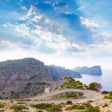 Majorca Formentor Cape in Mallorca island Royalty Free Stock Photography