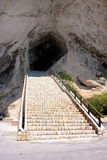 majorca för arta grottaingång Arkivfoton