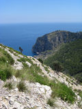 Majorca island coastline Royalty Free Stock Image