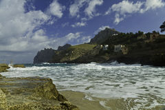 Majorca island coastline Royalty Free Stock Images