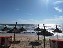 El Arenal, Illa de Mallorca. This is Majorca Island, Spain. El Arenal Stock Photography