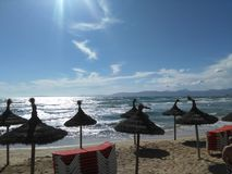 El Arenal, Illa de Mallorca. This is Majorca Island, Spain. El Arenal Stock Image