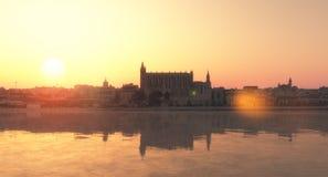 Majorca katedra Obraz Royalty Free