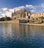 Majorca Kathedrale Stockfotografie