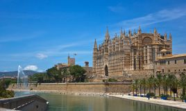 Majorca Kathedrale Stockbild