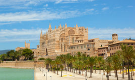 Majorca La seu Cathedral Stock Images