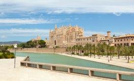 Majorca La seu Cathedral Royalty Free Stock Photography