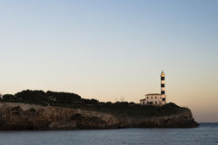 Majorca Lighthouse Royalty Free Stock Photos