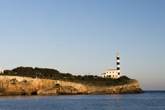 Majorca Lighthouse Royalty Free Stock Photography
